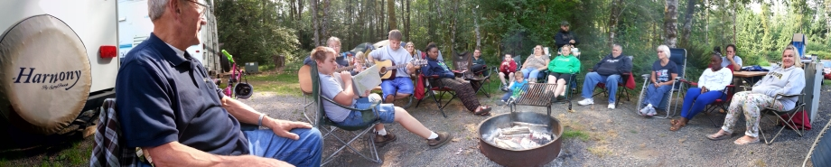 Centralia Open Bible campout 2014