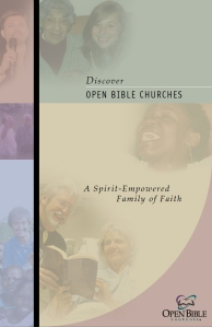 Discover Open Bible Churches brochure